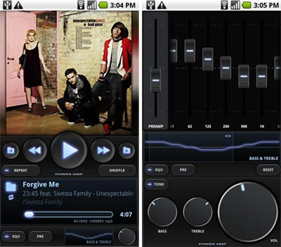 Power Amp Android